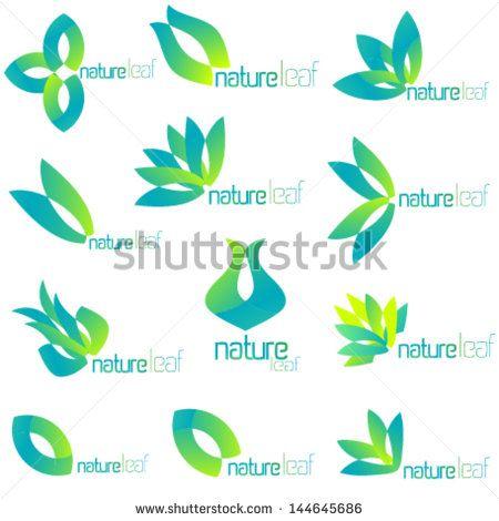 flower logo design vector free download