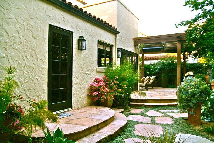 spanish bungalow exterior spanish style Pinterest Spanish