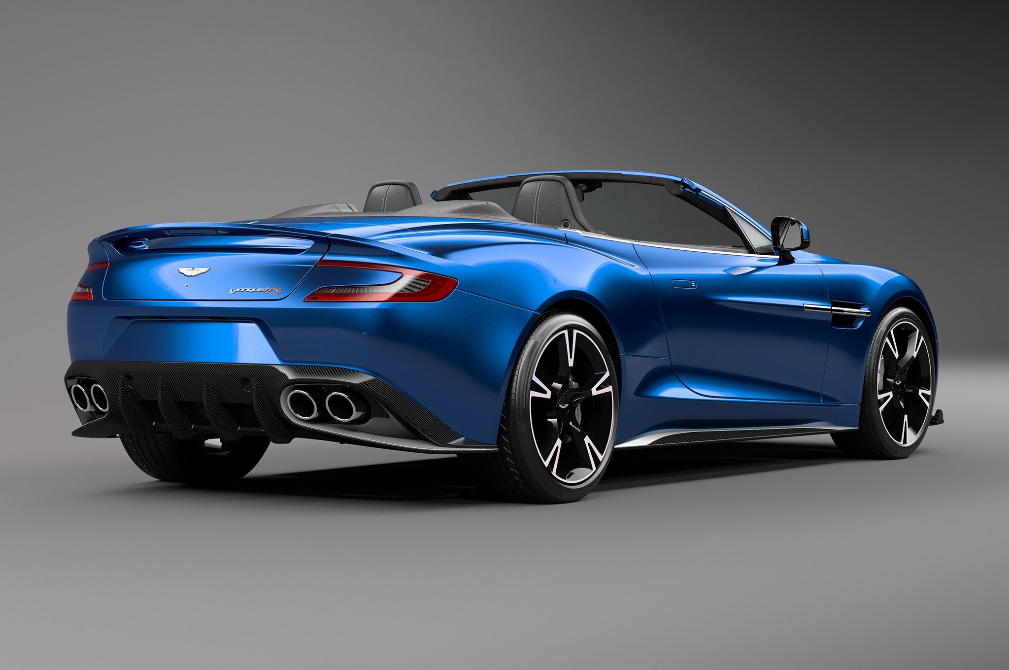 2018 Aston Martin Vanquish S Vanquish Volante rear three quarter