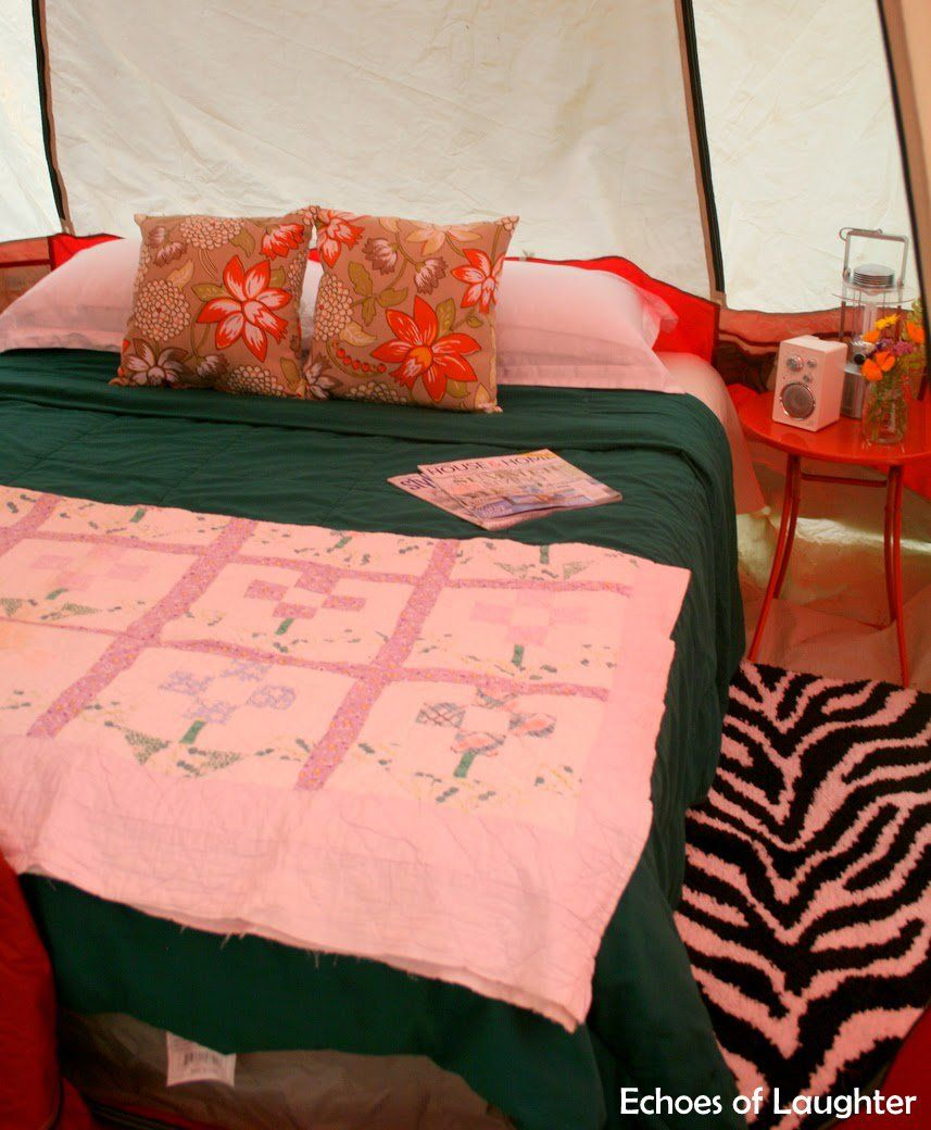 19 Cool Camping Tricks and Tips! Tent camping beds