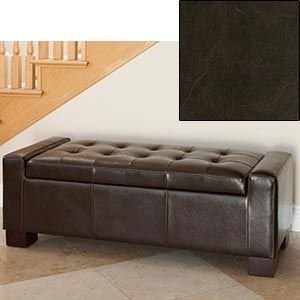 Amazing Ravello Leather Storage Ottoman Furniture Toy Storage Alphanode Cool Chair Designs And Ideas Alphanodeonline