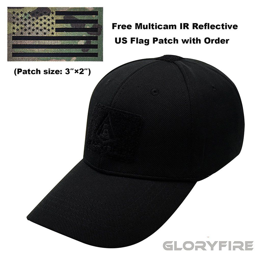 2A Tactical Gear Condor Outdoor Cap    USA Flag Patch Stitching     Excellent Fit for Most ... 549629b89764