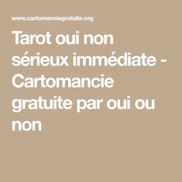 tarot amour gratuit fiable oui non