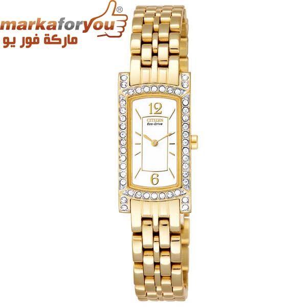 ساعة سيتيزن أيكودرايف نسائي Gold Watch Bracelet Watch Accessories