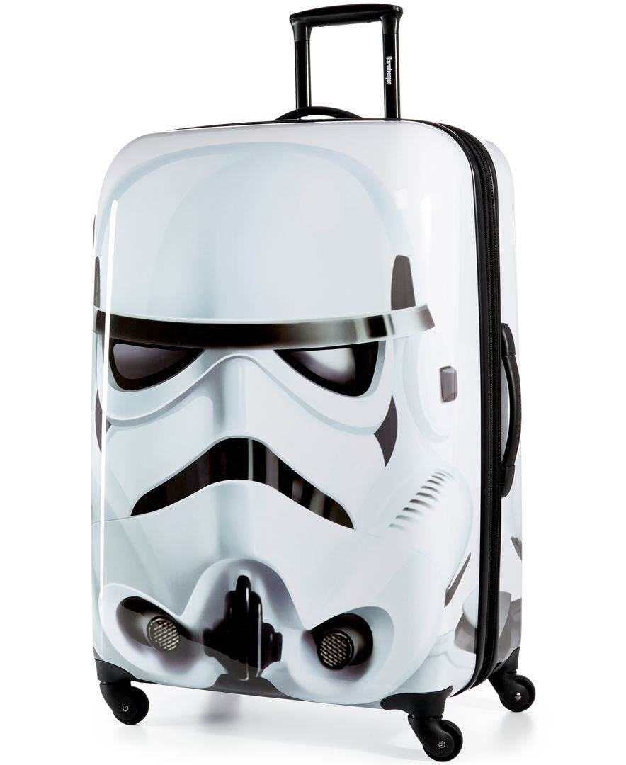 "Star Wars Stormtrooper 28"" Hardside Spinner Suitcase by American Tourister"