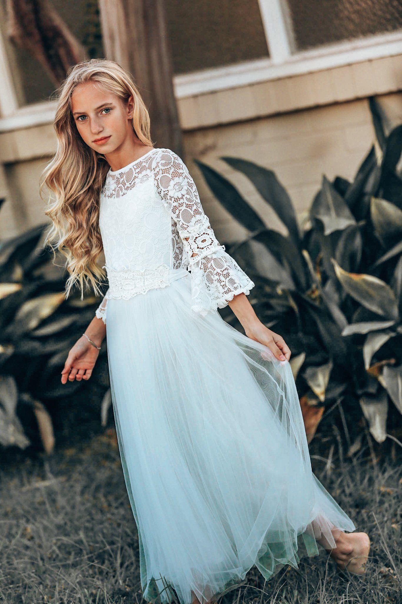 Tween Savanna Dress Tea Princess Dresses for tweens