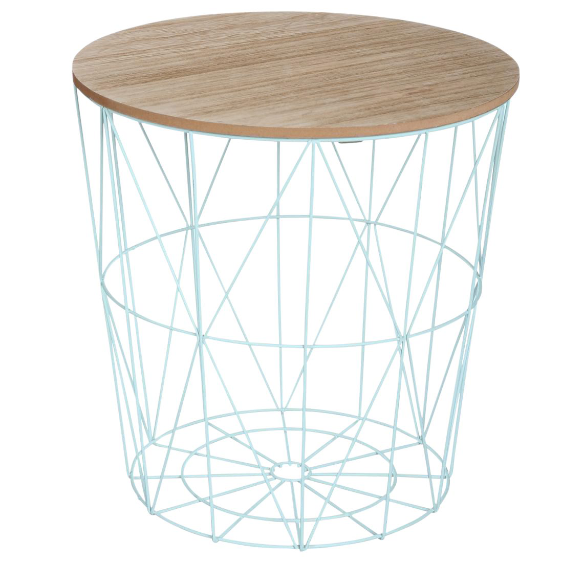 table metal envie d 39 ete bleu