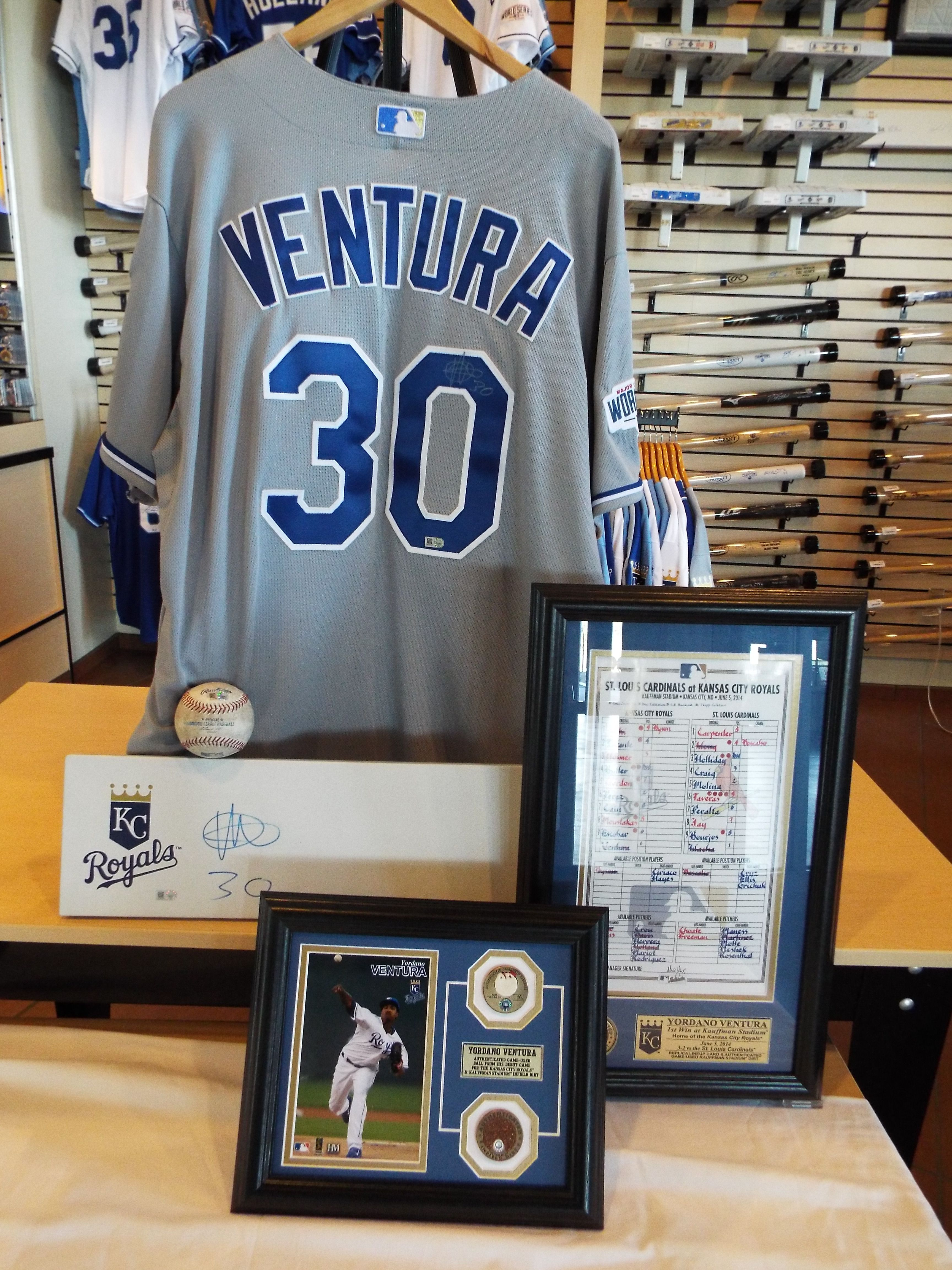 Royals Authentics is proud to offer a variety of autographed items ...