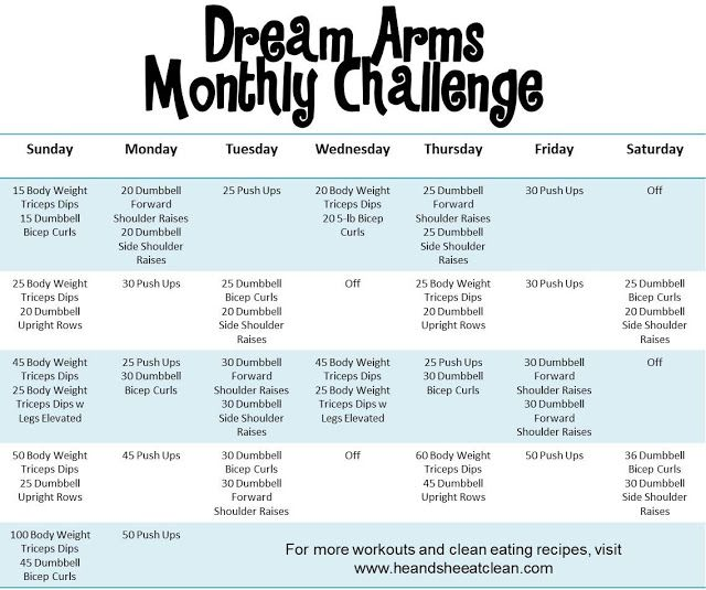 Whos Up For A Challenge Try Out This Upper Body Workout To Get You Those Dream Arms Youve Always Wanted