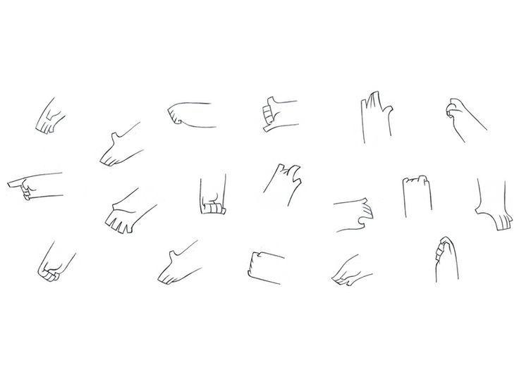 Drawn Hand Gesture Chibi 5 Chibi Drawings Drawing Tips Character Drawing