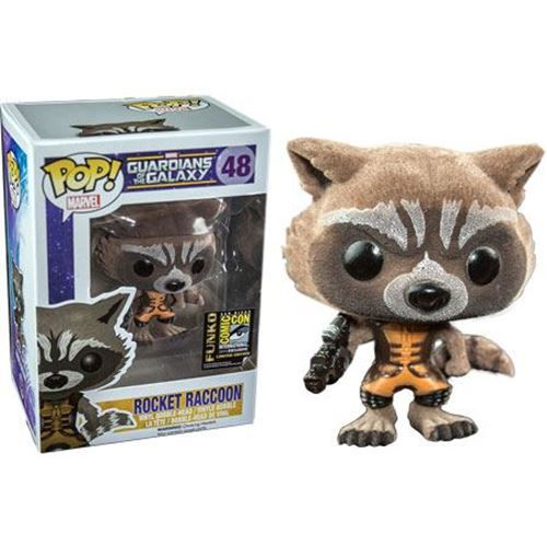 Flocked Comic Con Exclusive Guardians Of The Galaxy