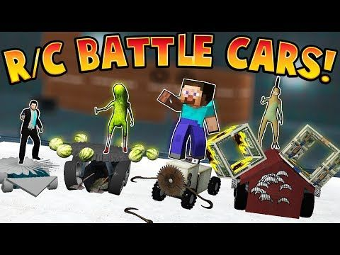 FUN BUILDING RC BATTLE CARS! | Garry's Mod | Gmod Funny Moments