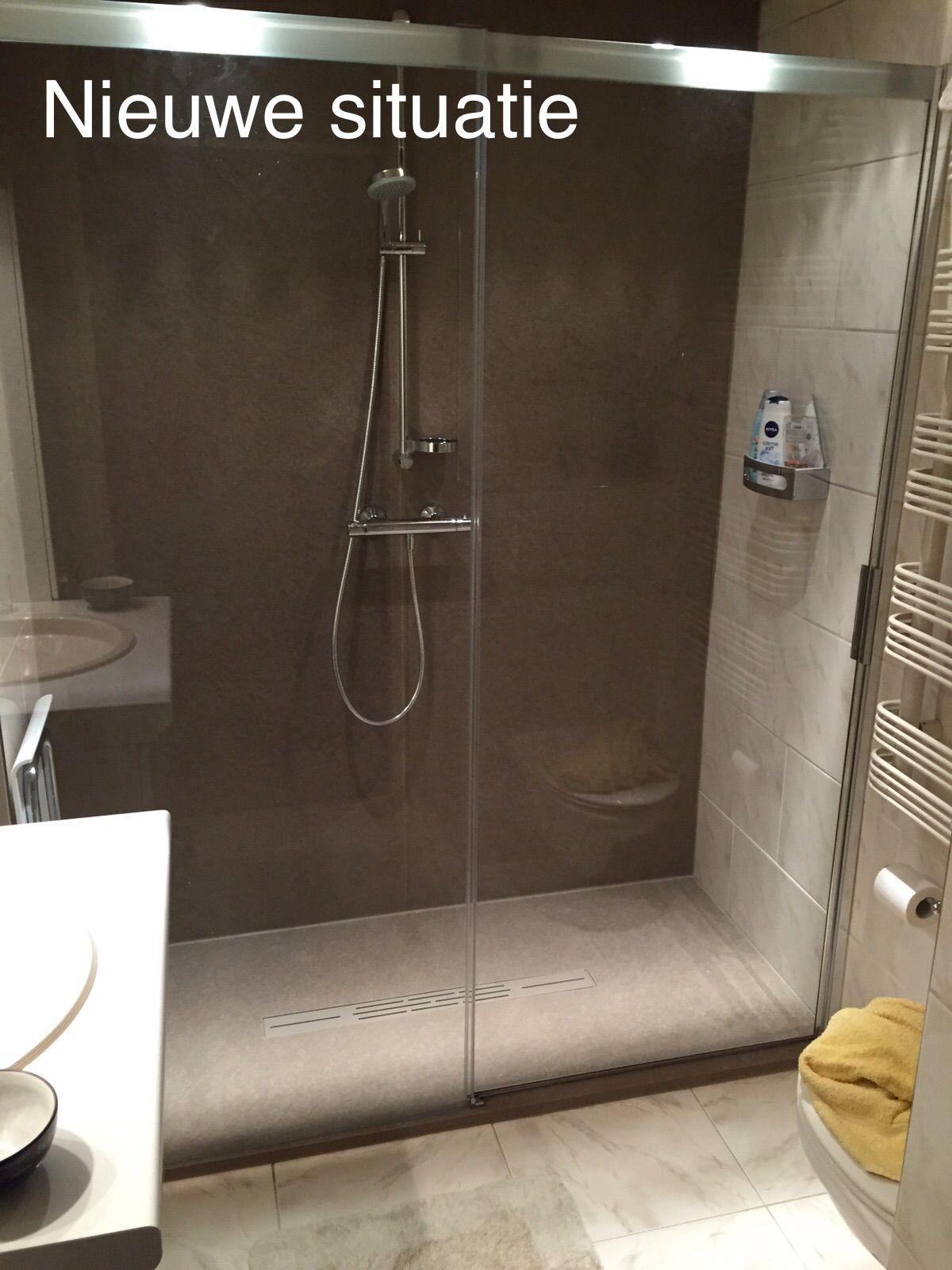 pin van bouwcenter baauw op badkamer inloopdouche pinterest