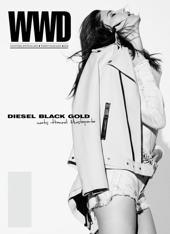 DIESEL BLACK GOLD SPRING SUMMER 2013 CAMPAIGN SHOT BY THEO WENNER