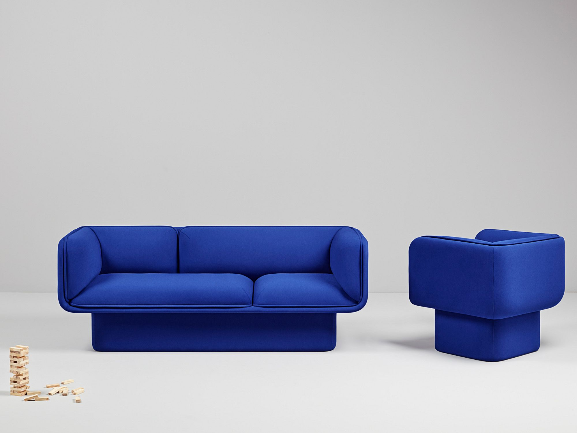 BLOCK 3 seater sofa The Novelties Collection by Missana design MUT