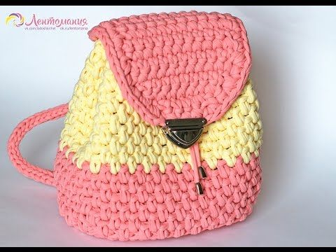 crochet backpack tutorial tasche h keln h keltasche und. Black Bedroom Furniture Sets. Home Design Ideas