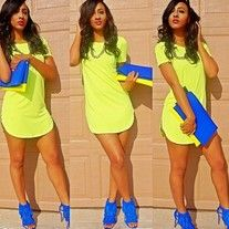 Products · Yellow Tee Dress · D'Amari Boutique's Store Admin