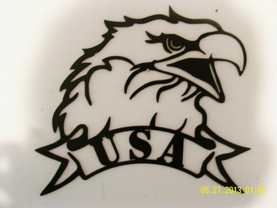 Small Metal Wall Art usa american bald eagle metal wall art small - patriotic, gifts