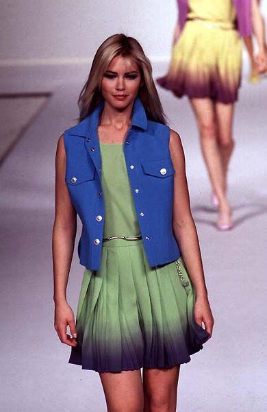 Mila Schon Spring Summer 1997 - Valeria Mazza