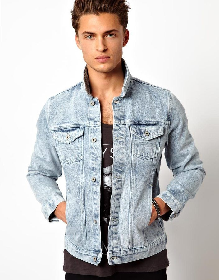Denim Jacket | Man shop, Denim jacket men and Men's jacket