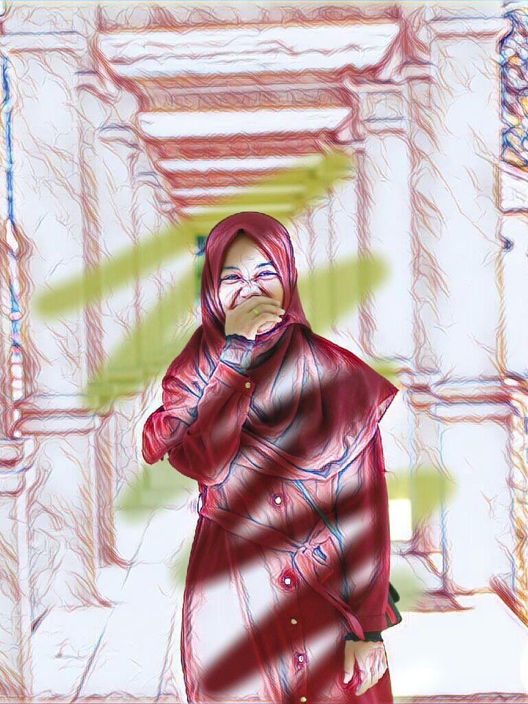 Pin oleh widya rahmatunnisa di Sketsa Art