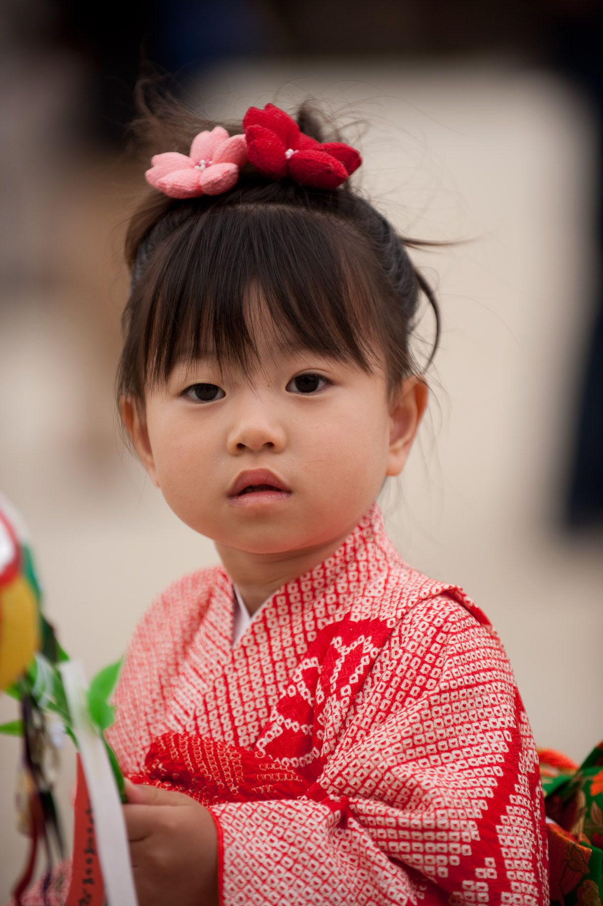 Pix For Japanese Children Kimono Red clothes