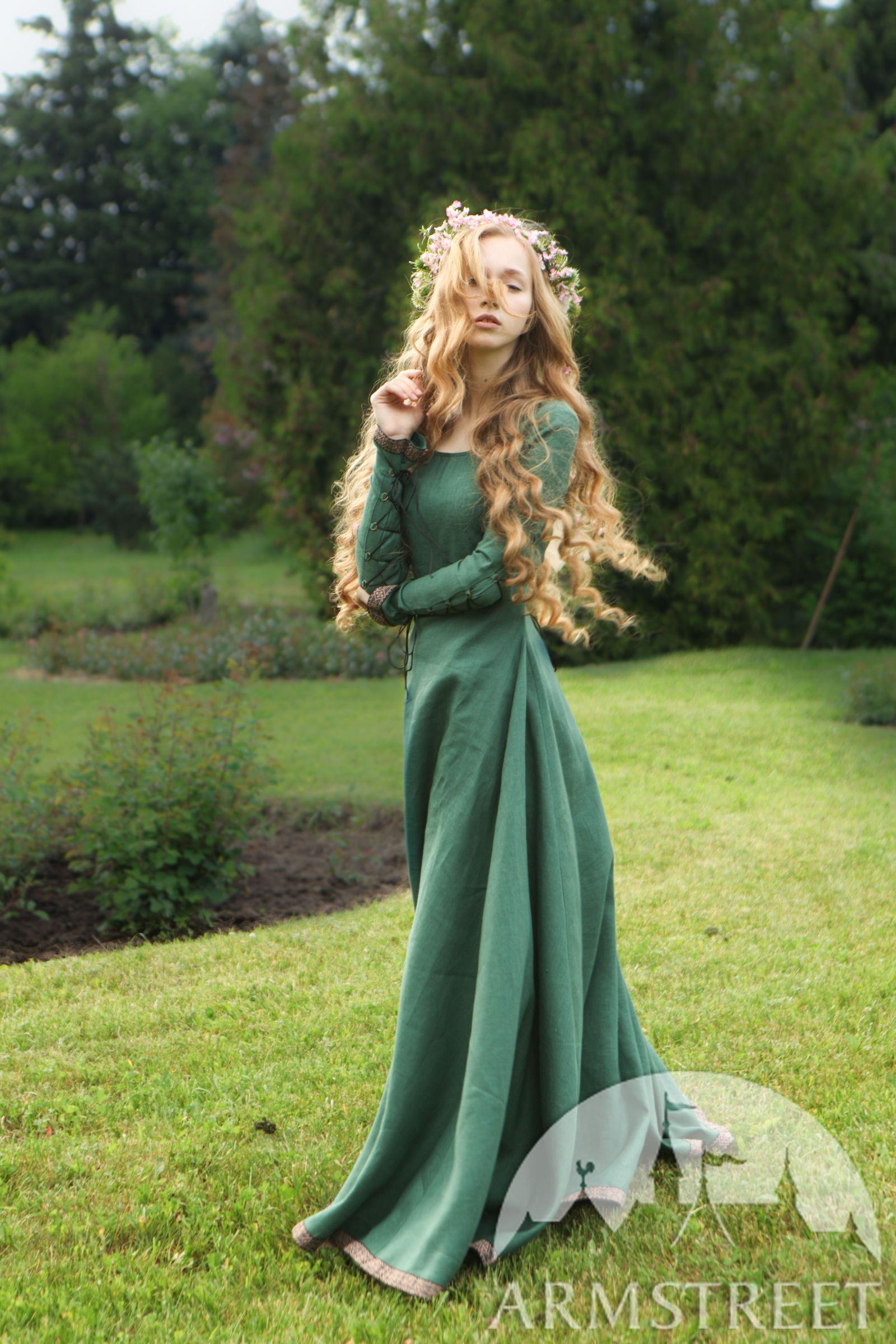 """Bridesmaid Dress """"Secret Garden"""" Vestido medieval"""