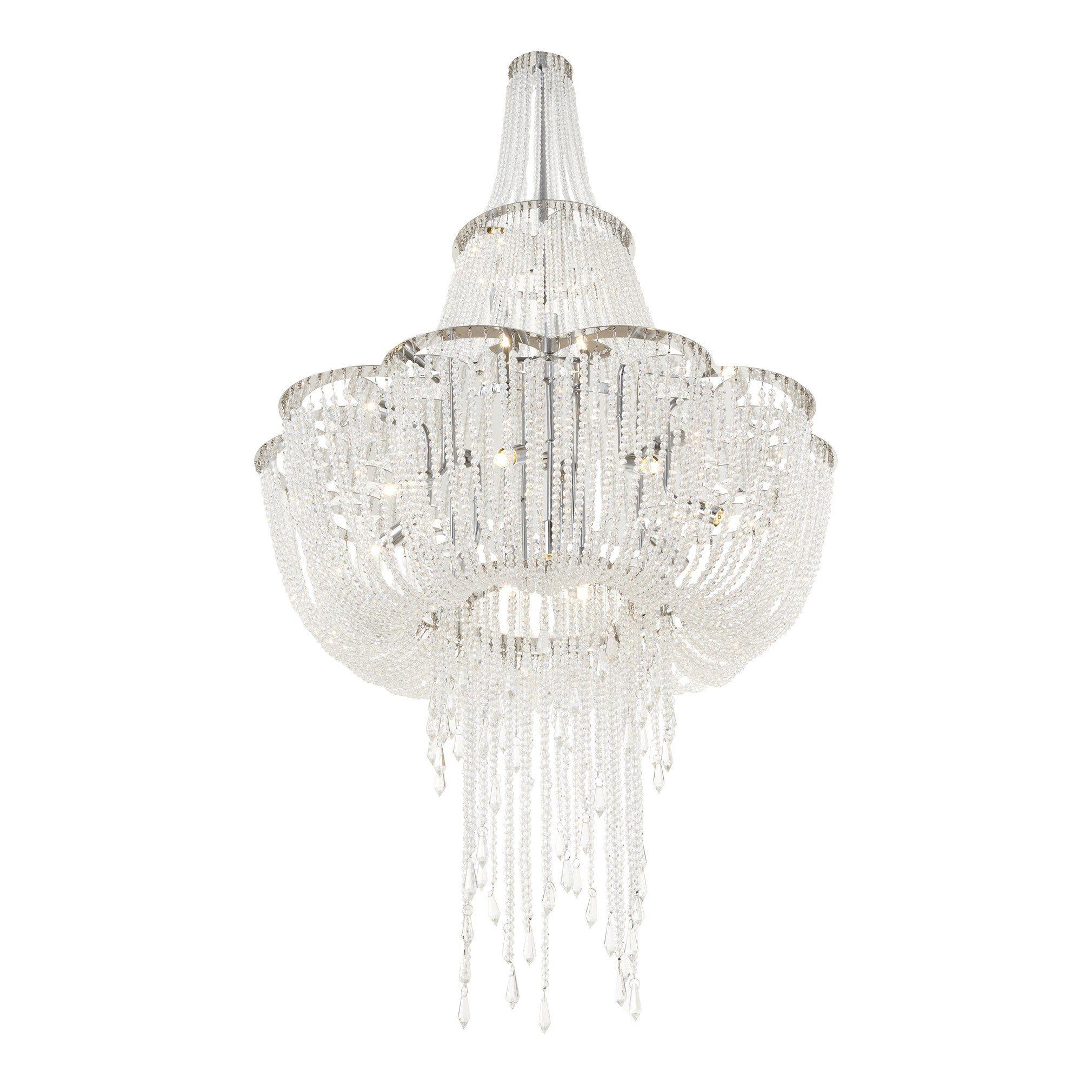 Rv astley monaco crystal chandelier shropshire design