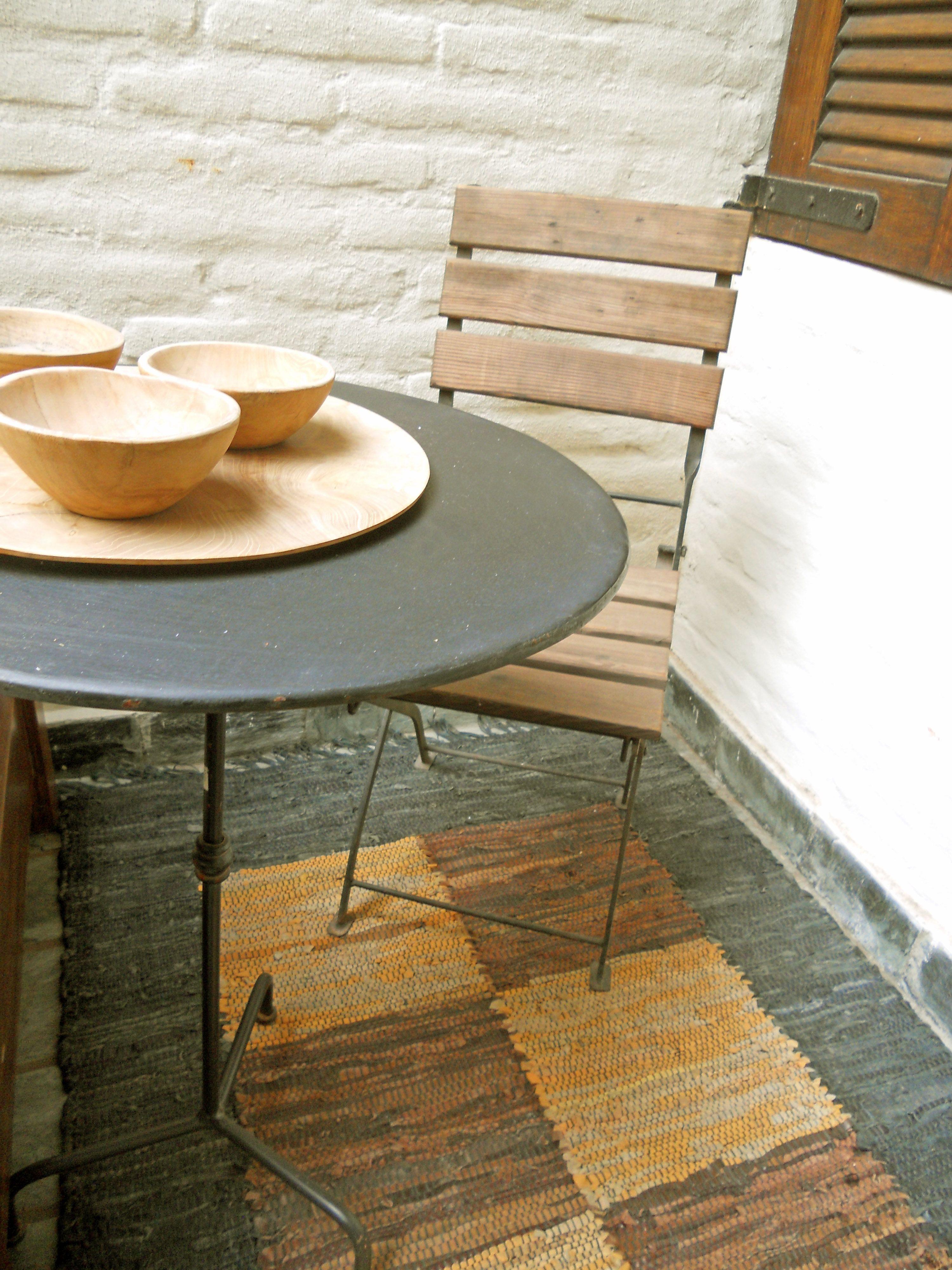 rincon de madera y hierro #spdecoracion