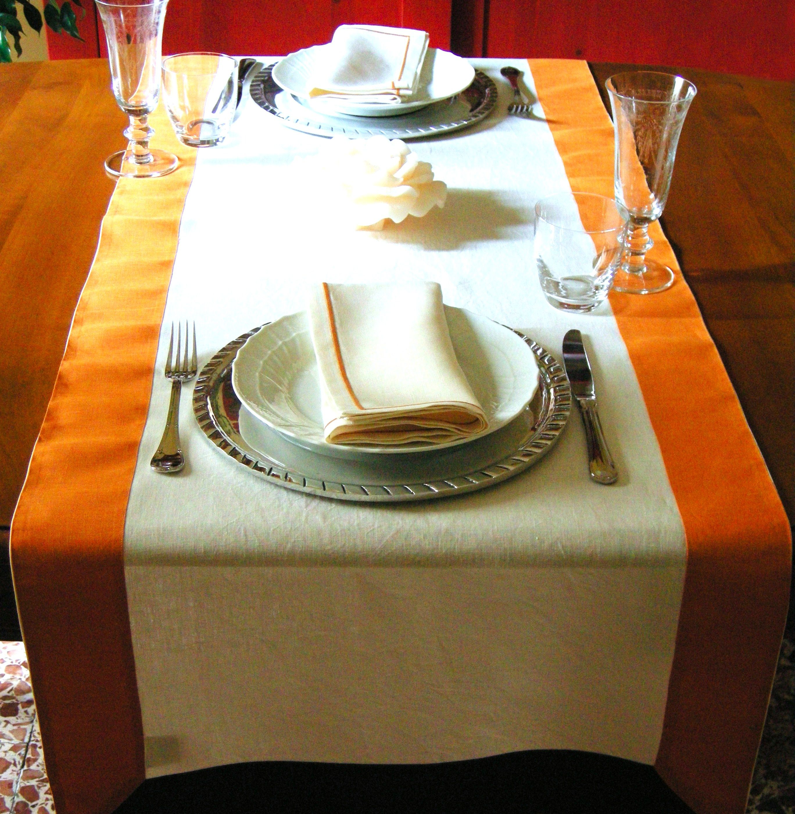 Tovaglia Da Tavola Moderna striscia di lino come tovaglia per due | tovaglia, tavolo