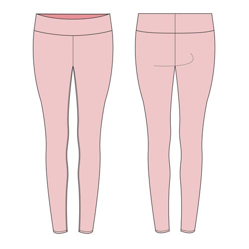 DIY Easy Sport Lycra Leggings in Under and Hour | sewing | Pinterest ...
