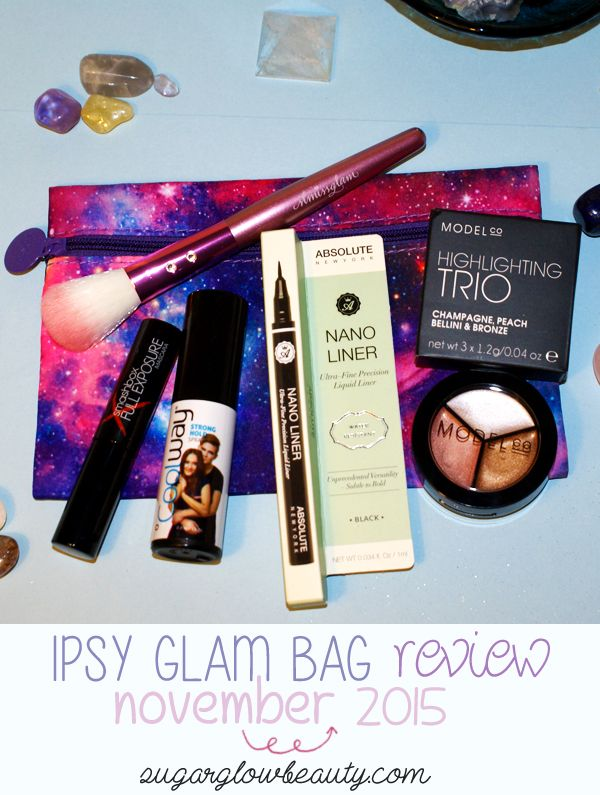 My review of this month's #Ipsy Glam Bag, which included this pink, purple & blue galaxy-inspired makeup bag :) http://bit.ly/1Hf1wY9 #makeup