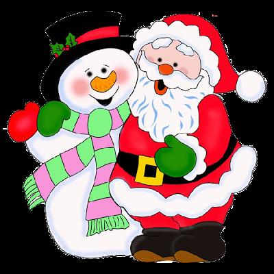 Santa Claus Xmas Clip Art Xmas clip art, Christmas