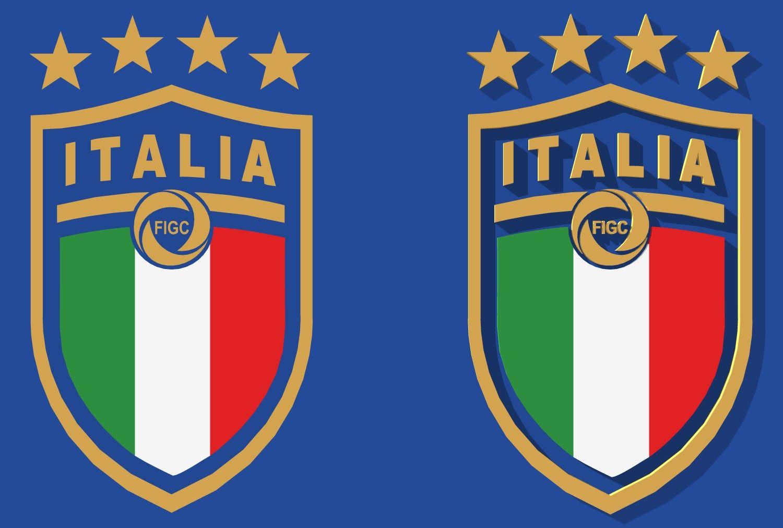 Sketchup Of Figc Logo Sketchup Calcio Soccer Italy Italia Forza Azzurri Logo National Football Teams National Football Football Team