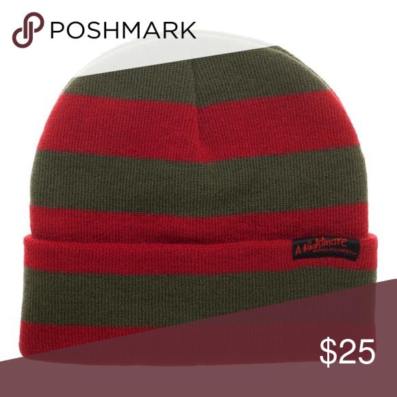 A Nightmare On Elm Street Cosplay Freddy Krueger Winter Cuffed Beanie Hat