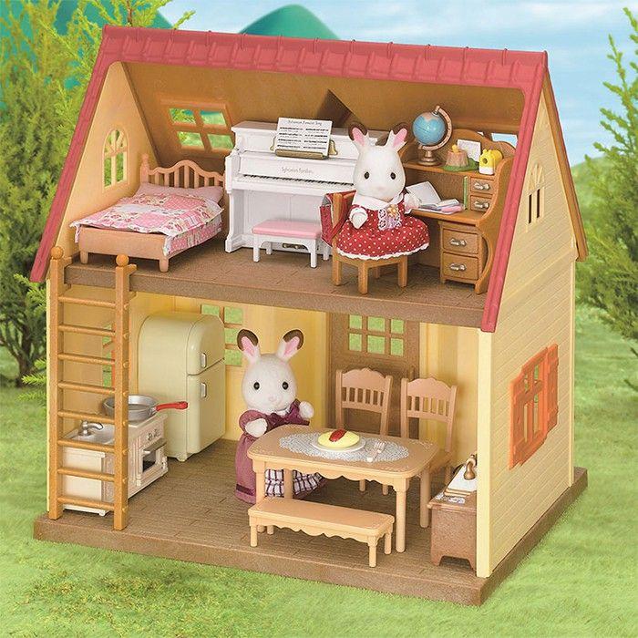 Set muebles cl sicos para casa de campo sylvanian - Muebles para casas de campo ...