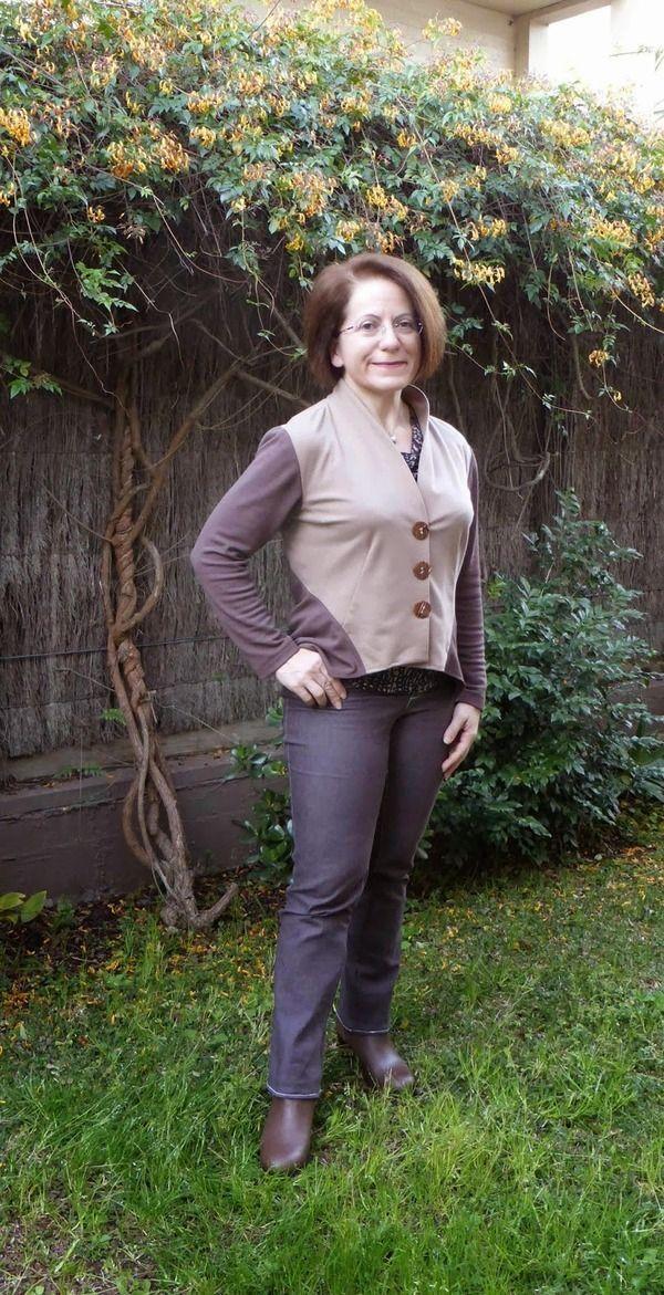 Pattern Reviews> Vogue Patterns> 8982 (Misses' Jacket and Vest)