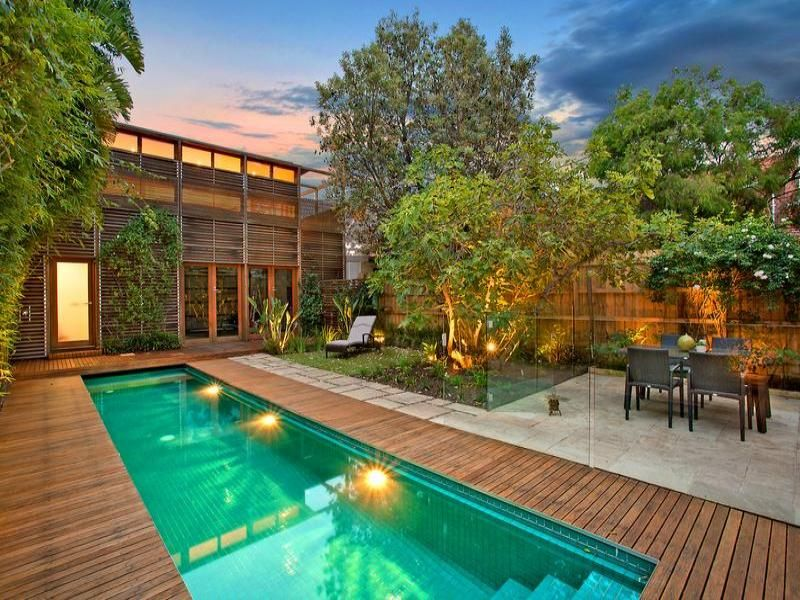 Pool ideas and landscaping designs with pools