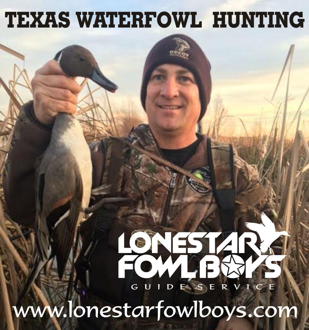 Lone star fowl boys guide service texas waterfowl