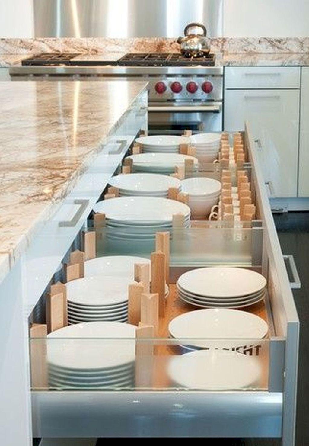 Ideas for kitchen decor  Awesome  Smart Small Kitchen Organization Decor Ideas