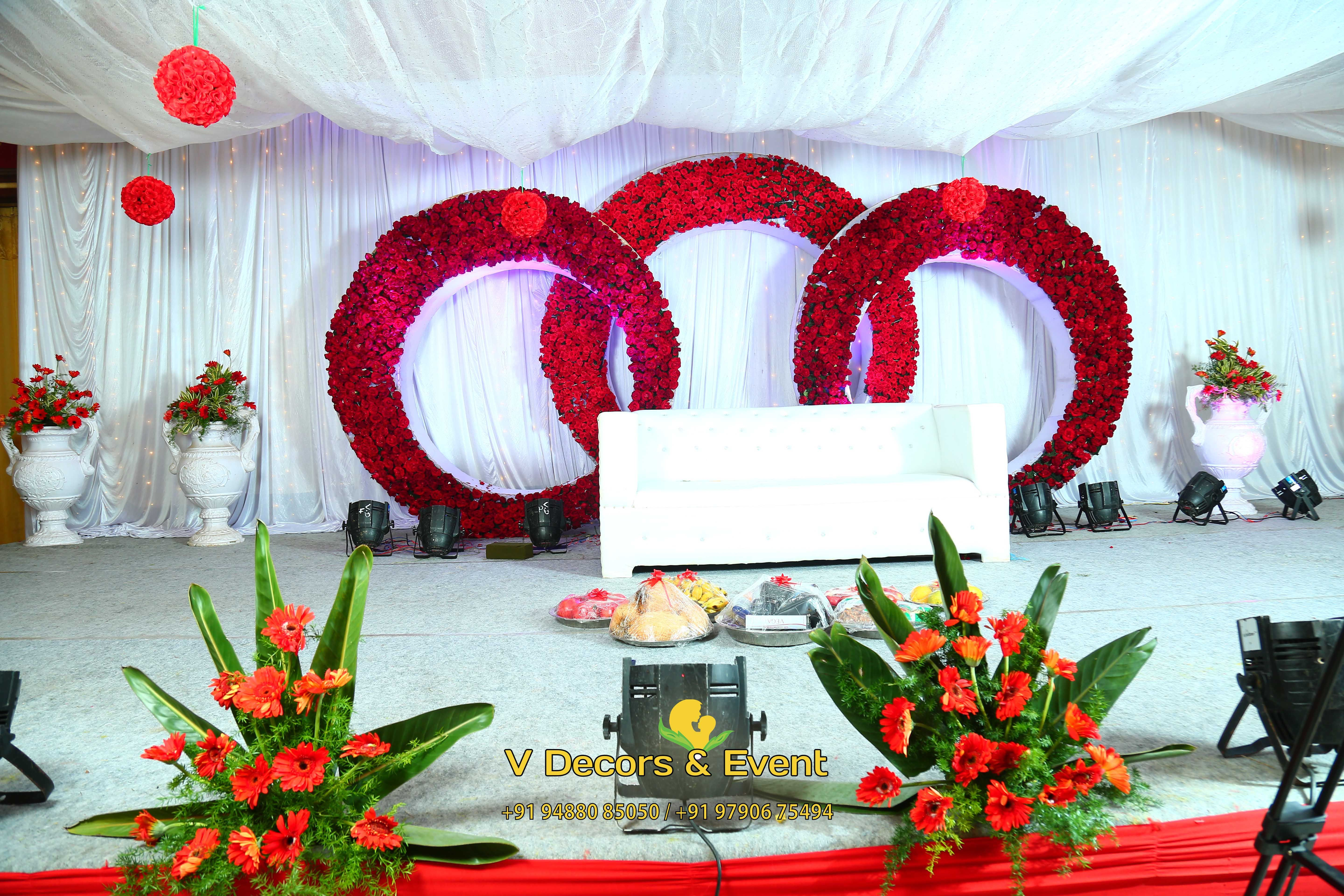 Reception Stage Decoration Wedding Stage Decorations