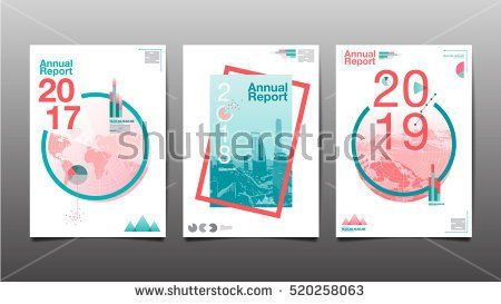annual report 2017 2018 2019 future business template layout
