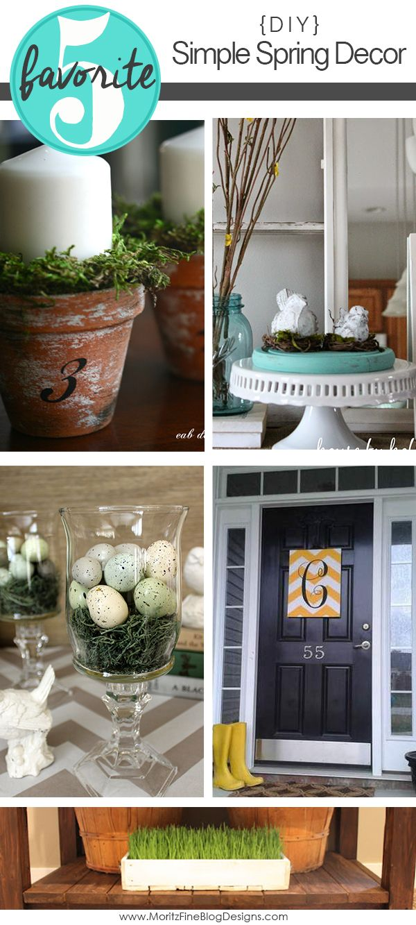 Simple DIY Spring Decor Ideas For The Home
