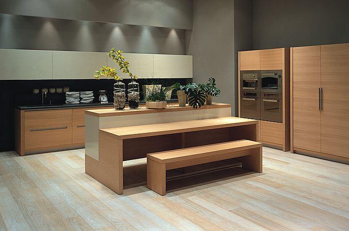 Cucine componibili di design cucine moderne eleganti ecologiche rovere ebano sbiancato tabacco - Cucine eleganti moderne ...