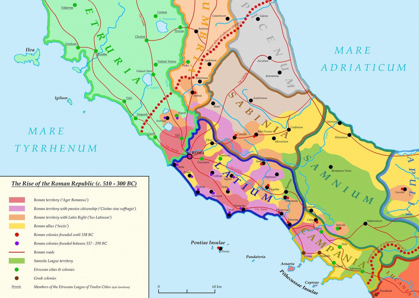 Roman Republic 510 300BCE Rome