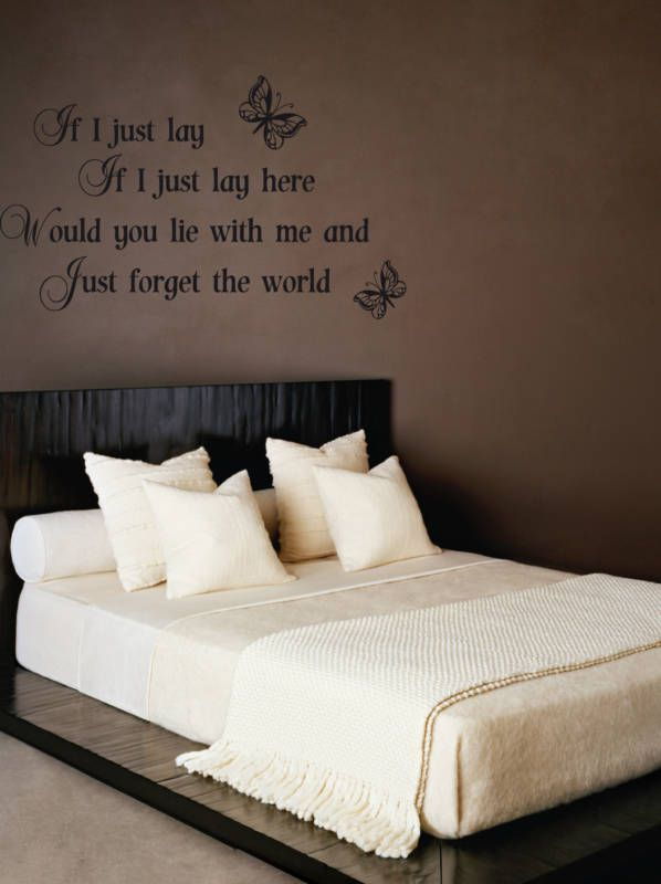 Wall Decoration Above Bed