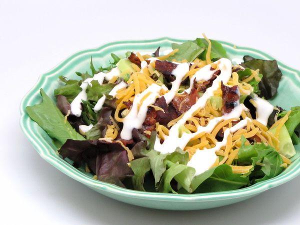 Five Layer Salad--225 calories per serving