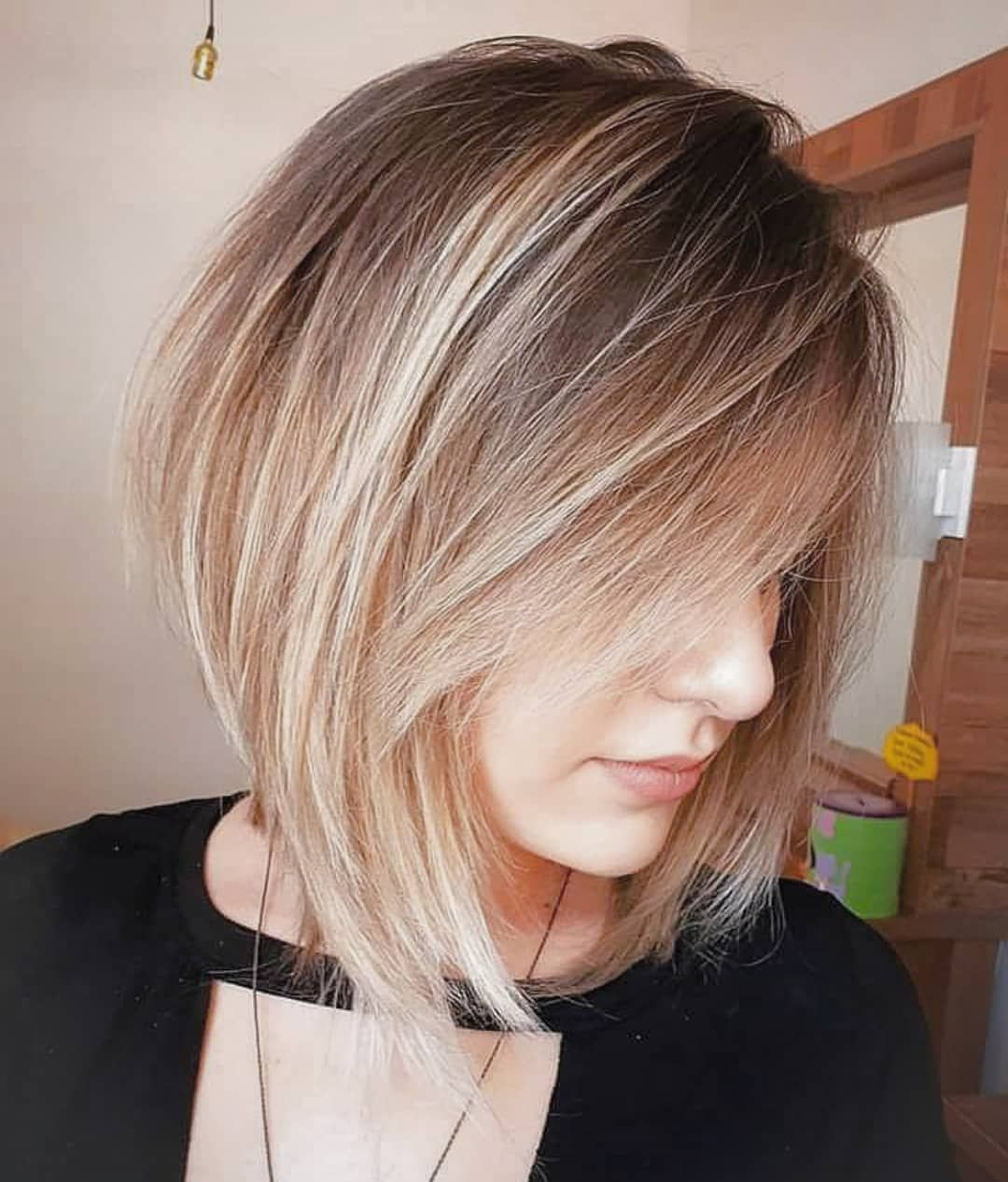 Stylish Choppy Lob Haircut For 2019 Women Shoulder Length Hairstyle Ideas Haircut For Thick Hair Lob Haircut Medium Hair Styles