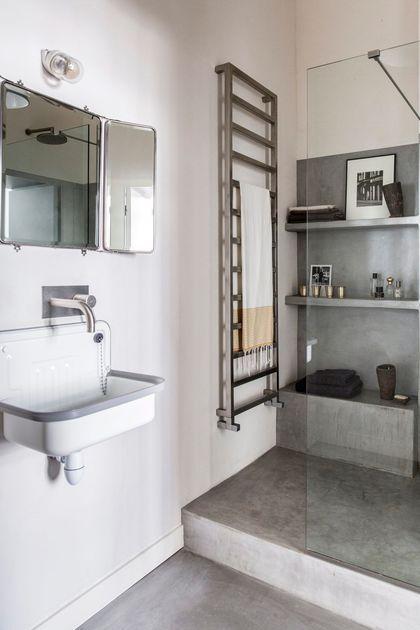 Déco salle de bain : photos de salles de bains qui optimisent l\'espace