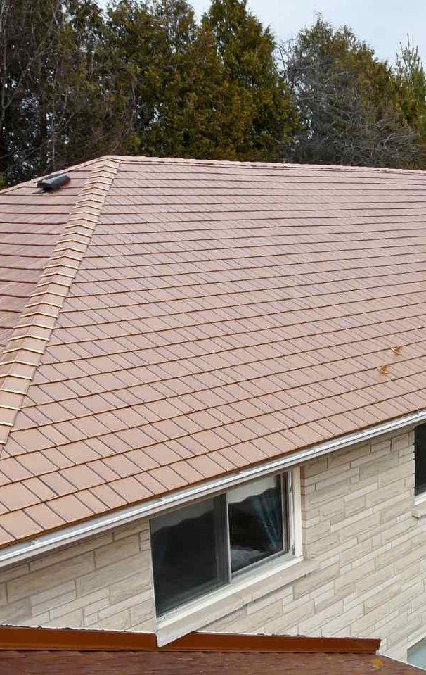 Copper Roof Kasselwood Steel Roofing In Copper Penny By Mccarthy Metal Roofing In North Carolina Modern Roofing Roof Architecture Green Roof Technology